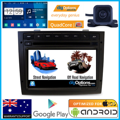 !GPS For Holden Commodore VY VZ Bluetooth Car DVD Navigation Radio HD Cam Stereo