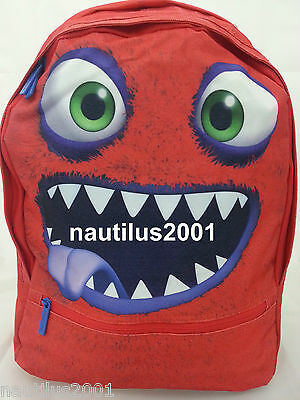 Mochila escolar BICHO monstruo 41Cm - bag / School Backpack Happy Monster Child