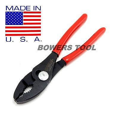 Wilde Tool 6-1/2 in. Combination Slip Joint Pliers Industrial Black MADE IN USA