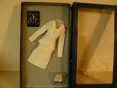 Franklin Mint Princess Diana White Suit With Certificate Of Authenticity
