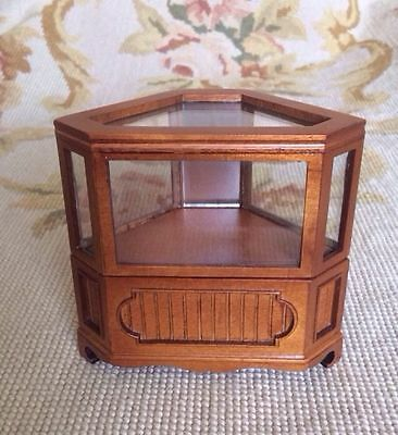 Bespaq Dollhouse Miniature Counter Bookcase Shelf Cabinet Showcase Cupboard p263