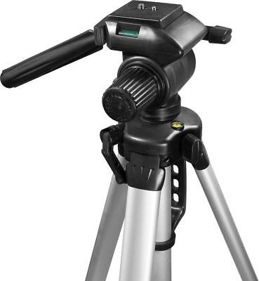 """NEW Barska Extendable to 63.4"""" Carrying Case Silver Deluxe Tripod"""