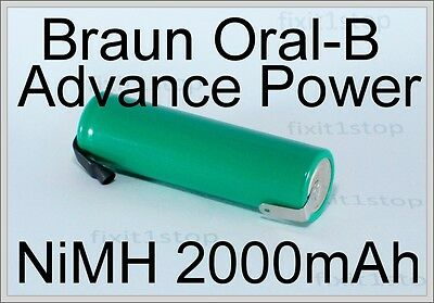 NEW NiMH Battery Braun Oral-B Advance Power Toothbrush Repair Type 4713 4731