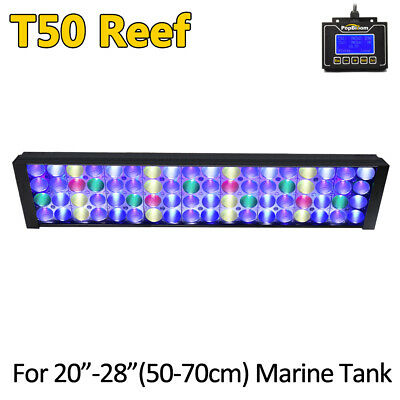 DSunY Timer Control Programmable WIFI 24'' LED Aquarium Light Corals Reef Tank