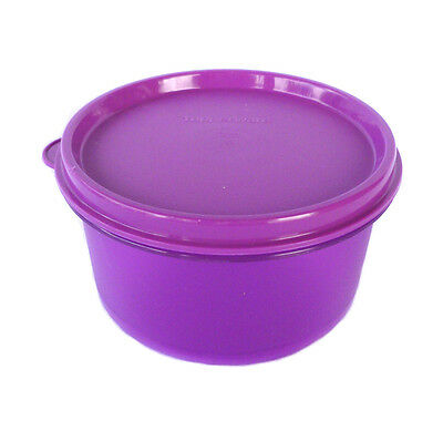 Tupperware NEW 1 x Snack Cup 120ml Kids Baby Meals Lunch Snacks PURPLE