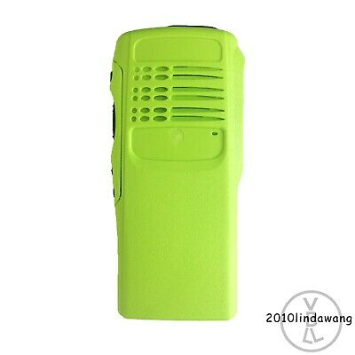 Green Replacement Case Housing for Motorola HT750 Portable Radio