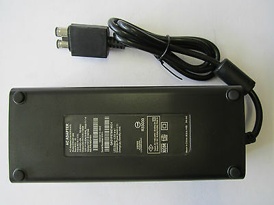 12V AC Brick Adapter Power Supply for Xbox 360 Slim UK Mains Charger Cable 135W