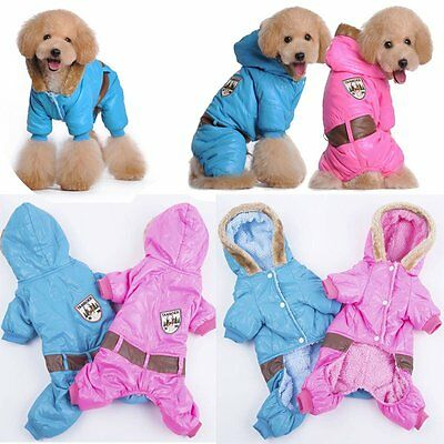 Fashion Soft Cozy Warm Autumn Winter Dog Coat Hoodie Pet  Apparel Puppy Clothes