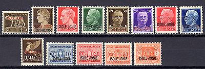 "Greece Italy Ionian Islands 1941 ""isole Jonie"" Set Mnh - Free Shipping"
