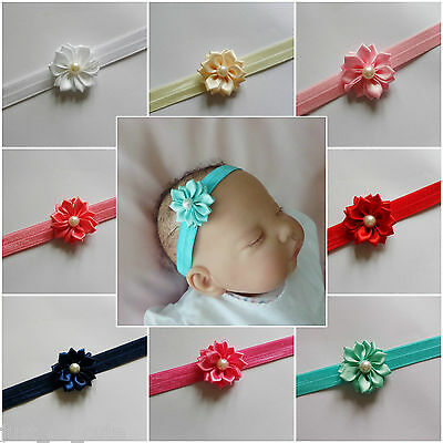 Baby Girls Headband Hairband Soft Elastic Band Headband Hair Accessories flower