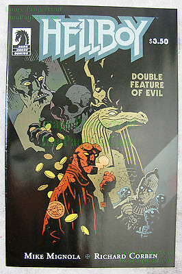 Hellboy Double Feature of Evil 1-Shot VHTF Mike Mignola Variant Cover! EXCELLENT