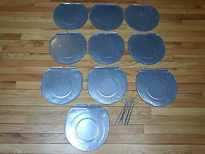 READY TO USE 10 Maple Syrup Sap Bucket COVERS LIDS with Wires