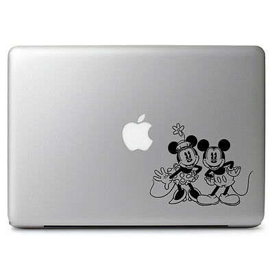 Disney Retro Mickey Minnie for Macbook Air/Pro Laptop Car Vinyl Decal Sticker