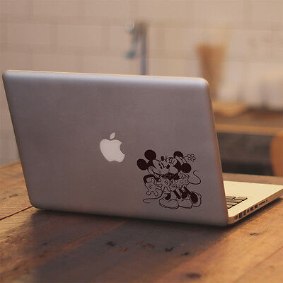 Disney Retro Mickey Minnie Kiss for Macbook Air Pro Laptop Vinyl Decal Sticker