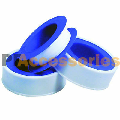 "3 Rolls 1/2"" x 260"" Teflon Plumbing Thread Seal Tape for Pipe Sealing"