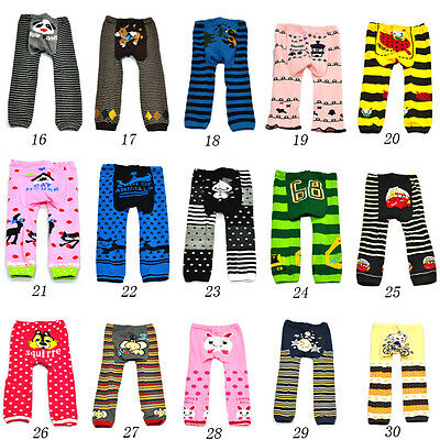 Boy Girls Toddler Baby PP Infant Unisex Pants Kids Leggings Warm Trousers Tights