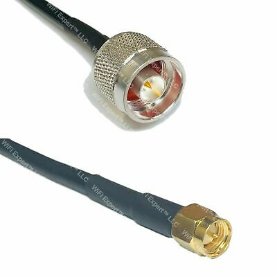 USA-CA RFC240 N MALE to SMA MALE Coaxial RF Pigtail Cable