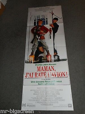 Home Alone - Original French Door Panel Poster - 1990