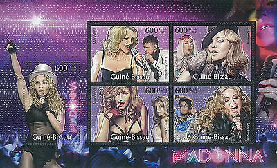 Guinea Bissau 2012 Stamp, GB12038A Madonna, American Singer, Songwriter, Actress