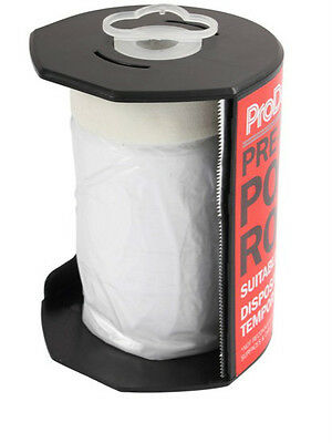 ProDec Pre-Masked Polythene Roll 55cm x 25m Spray Paint Protection (PDPY006)