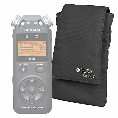 Black Pouch Case for TASCAM DR-05 Digital Voice Recorder/Dictaphone