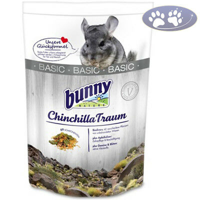 3,2 kg Bunny Nature Chinchilla Traum Basic Futter für Chinchillas