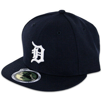 New Era 59FIFTY Fitted MLB AC YOUTH On Field Detroit Tigers Home Cap