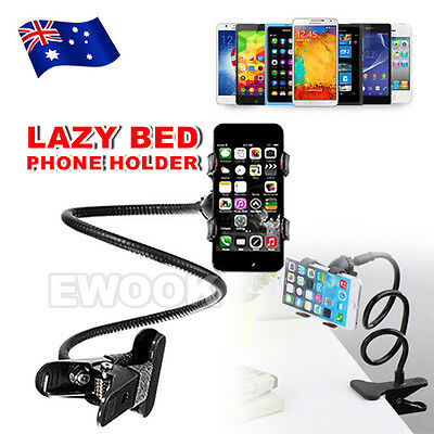 New Lazy Phone Mount Stand Holder 360 Rotating Car Desktop Bed for iphone 6 plus
