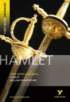 """Hamlet"" (York Notes Advanced), Lynn Wood Paperback Book The Cheap Fast Free"