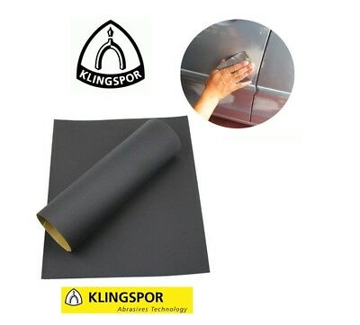 WET AND DRY SANDPAPER 320,400,600,800,1000,1200,1500,2000,2500 KLINGSPOR Quality