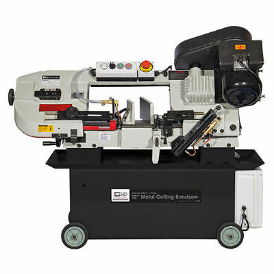 """SIP 01594 12"""" Inch Metal Cutting Bandsaw 4 Speed - Single Phase 230v 1.5hp"""