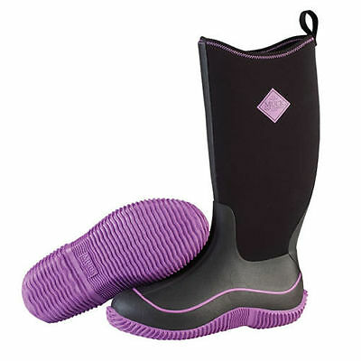 muckboots Hale, black and purple