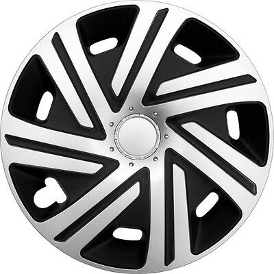 """Set Of 4 15"""" Wheel Trims To Fit Vw Golf 4  Golf 5, Golf 6, Polo + Free Gift #p"""