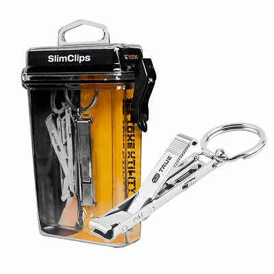 NEW NEBO True Utility TU236 SlimClips Key Ring Nail Clippers - USA SELLER