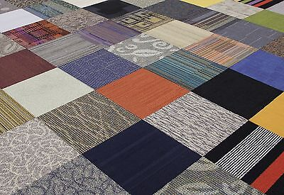 Interface | Flor Assorted Carpet Tile Flooring Covers 430 Square Feet