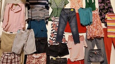 100 PC Lot of Womens Clothing Wholesale Size S-Xl Free Shipping!!!