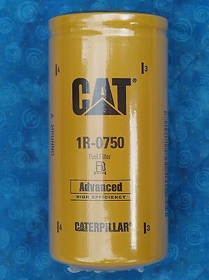Authentic Cat 1R-0750 Fuel Filter Caterpillar 1R0750 Sealed Made In The Usa
