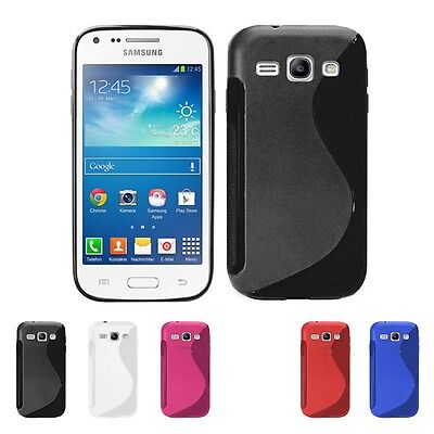 Pellicola + Custodia Cover WAVE per Samsung Galaxy Core Plus G3500 Trend 3 G3502