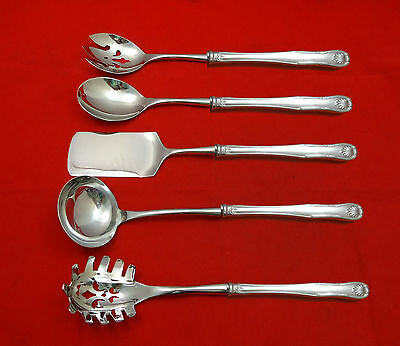 King by Kirk Sterling Silver Hostess Set 5pc HHWS  Custom Made