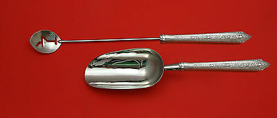 Normandie by Wallace Sterling Silver Bar Set 2pc HHWS  Custom Made