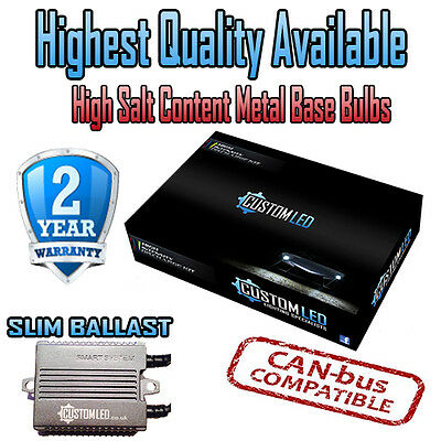 BMW 5 Series E60 03-on Smart Canbus H7 HID Kit Metal Bulbs - 2 Year Warranty