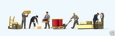 Preiser 10581 At the freight station (Railroad worker) 1:87 suberb detail