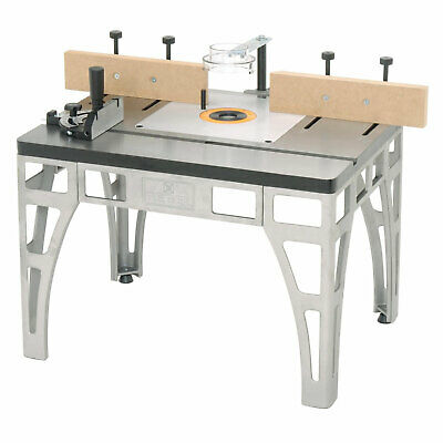 The Rebel W2000 Precision Cast-Iron Router Table with Miter Gauge Safety Guard