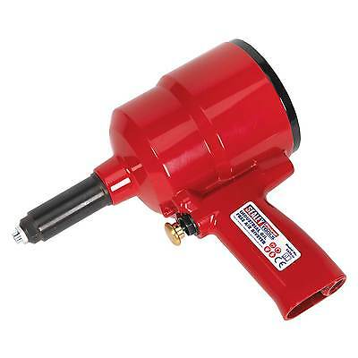 Sealey Trigger Operated Air Riveter Industrial Oil Free Power Work Tool - SA38