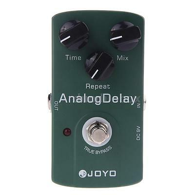 Joyo JF-33 Mini Analog Delay Electric Guitar Effect Pedal Green True Bypass Hot