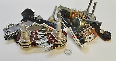 Electronic Components Assortment -   Potentiometers - Pack Of 20