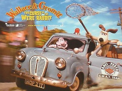 WALLACE & GROMIT - The Curse of the Were Rabbit - 11x14 US Lobby Cards Set of 8