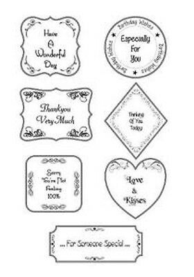 EVERYDAY FLOURISH COLL Sentimentally Yours Clear Stamp Set by Phill Martin SYEFC