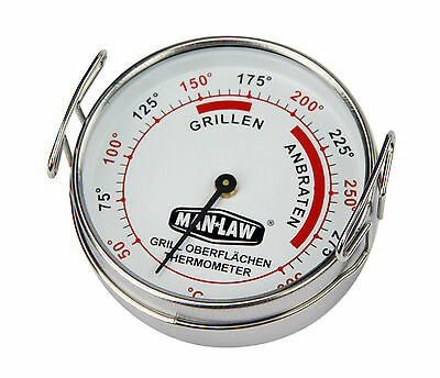 Man-Law  BBQ Grill Surface Thermometer Grilloberflächen-Thermometer Barbecue
