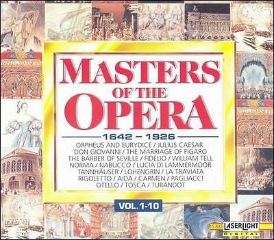 Masters of the Opera 1642-1926 1-10